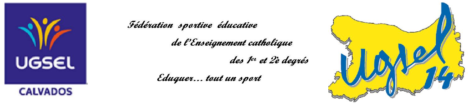 UGSEL du  Calvados